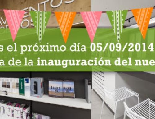 Inauguración Showroom en nuestras instalaciones de Cádiz el próximo 5 de Septiembre 2014