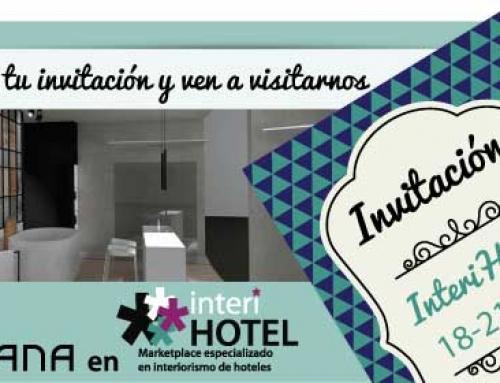 Descárgate tu invitación para Interhotel y ven a visitarnos