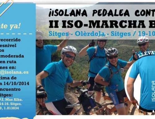 II ISO-MARCHA BTT pedalear con Isolana
