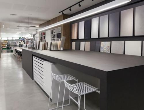 Showrooms de materiales de construcción