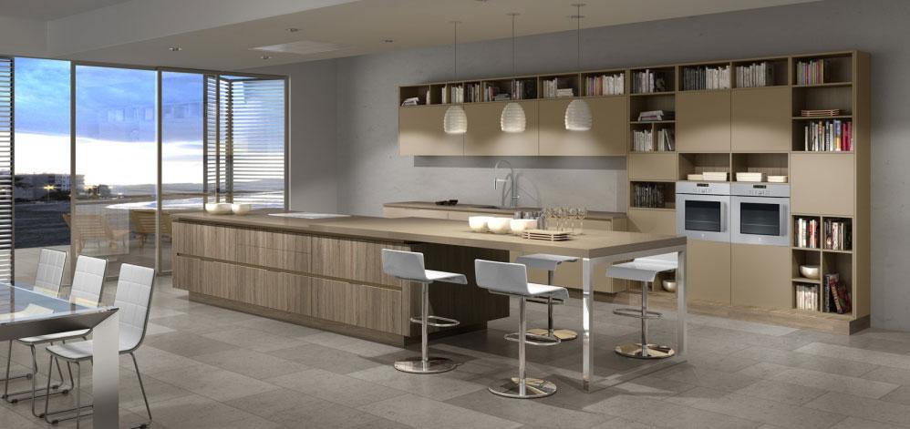 Cocinas modernas: diseño y decoración | ISOLANA | Materiales ...