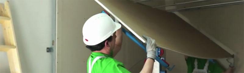 C mo montar un falso techo pladur isolana - Como colocar falso techo de pladur ...