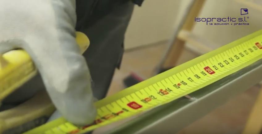 medir longitud de perfiles