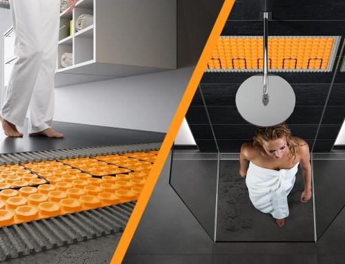 Cómo instalar calefacción en suelo y pared DITRA-HEAT de Schlüter