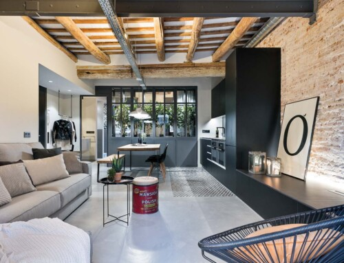 Loft New York Style por Dröm Living Interiorismo