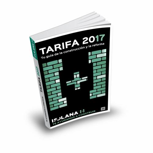 La Tarifa 2017 de Isolana es una guía para el constructor