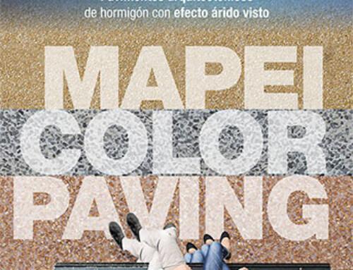 Mapei lanza al mercado Mapei Color Paving
