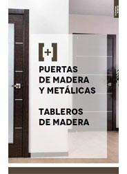 PUERTAS Y TABLEROS DE MADERA