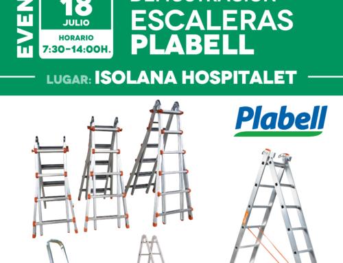 Jornada de demostración Escaleras Plabell [18 de julio]