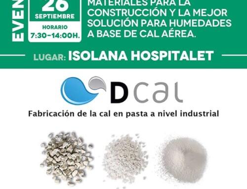 Jornada de Demostración de Productos DCAL en Isolana Hospitalet [26 de Septiembre]