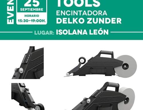 Jornada Tools: Encintadora DELKO ZUNDER – Isolana León [25 de Septiembre]