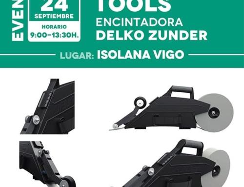 Jornada Tools: Encintadora DELKO ZUNDER – Isolana Vigo [24 de Septiembre]