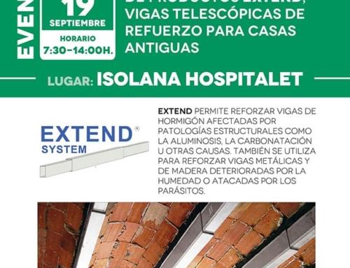 Jornada de Demostración de Productos EXTEND – Vigas telescópicas de refuerzo para casas antiguas [19 de septiembre]