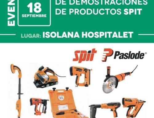 Jornada Técnica y de Demostraciones de Productos SPIT [miércoles 18 de septiembre]