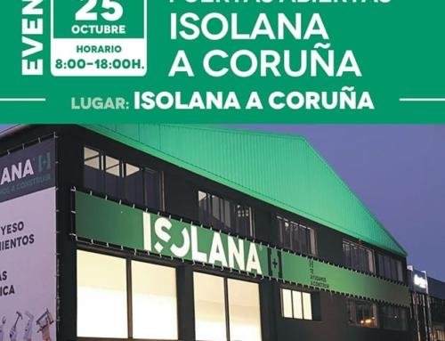 Jornada de Puertas Abiertas en Isolana A Coruña [25 de octubre]
