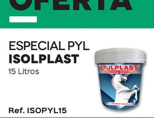 Pintura Plástica Especial PYL Isoplast – Oferta del mes de octubre en ISOLANA