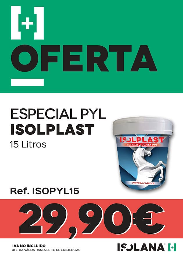 Oferta Especial PYL Isoplast Isolana Material de Construcción