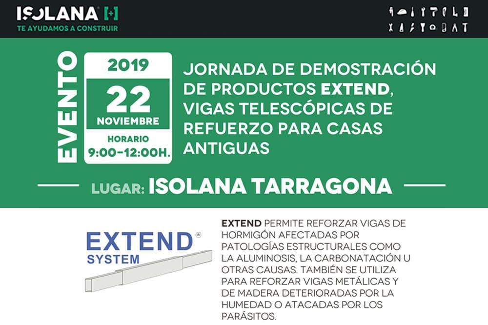 Capacitación EXTEND Isolana Tarragona