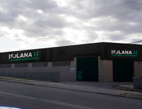 Nuevo almacén de ISOLANA en MANRESA