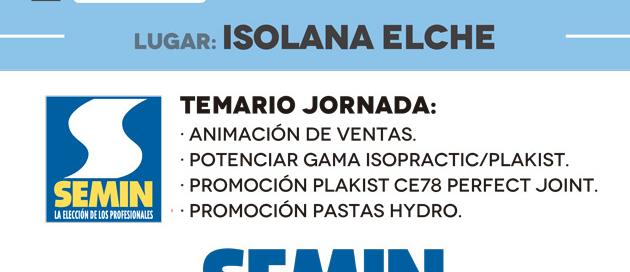 Jornada Seminday de SEMIN - ISOLANA ELCHE