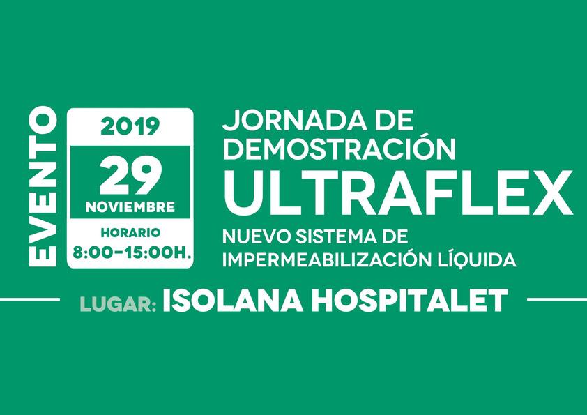 Ultraflex - Nuevo sistema de impermeabilización líquida en ISOLANA