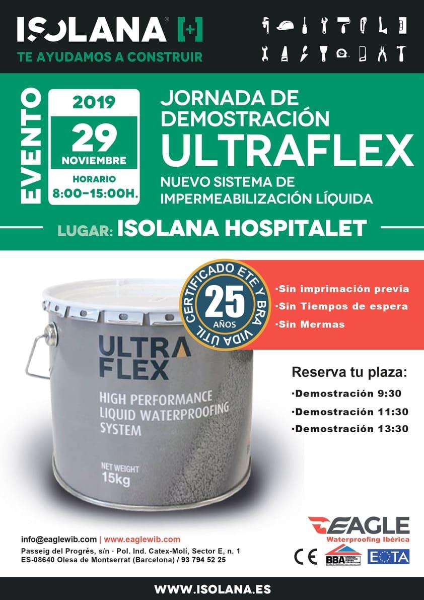 Ultraflex - demostración en ISOLANA