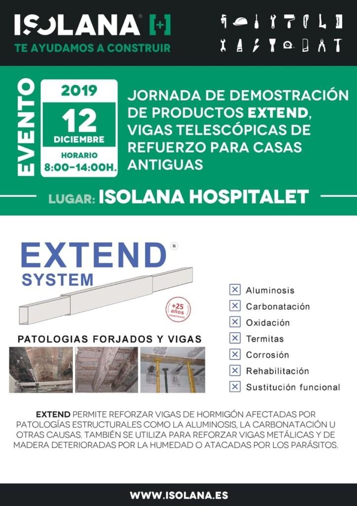 JORNADA EXTEND ISOLANA HOSPITALET 12 DIC 2019