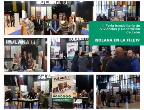 Gran participación de ISOLANA en la III Feria Inmobiliaria de Viviendas y Decoración de León 2019