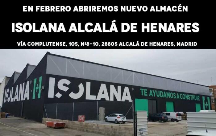 Almacén de Materiales de Construcción Isolana Alcalá de Henares, Madrid