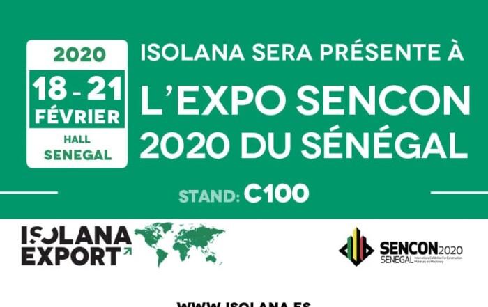 Isolana Export SENCON 2020 Senegal