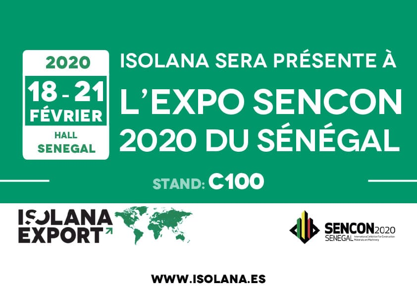 Isolana Export SENCON 2020 Senegal
