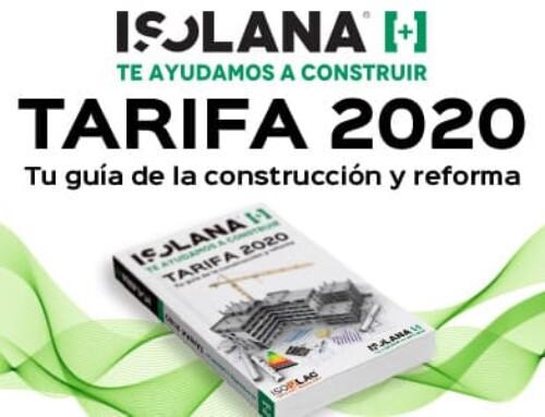 Tarifa 2020 – Tu guía de la construcción y reforma