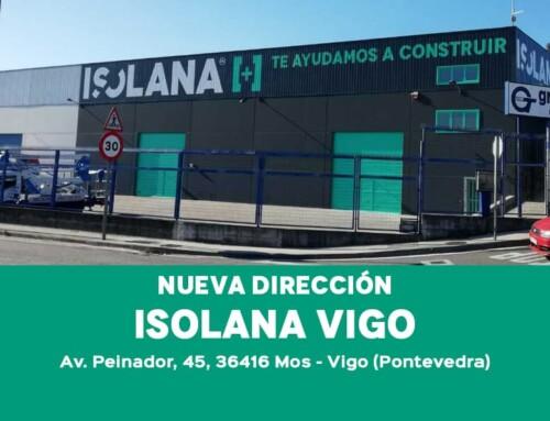 Nueva dirección de Isolana Vigo