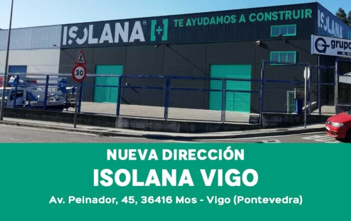 Isolana Vigo - Nueva dirección