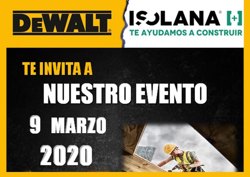 Evento DeWalt Isolana Hospitalet