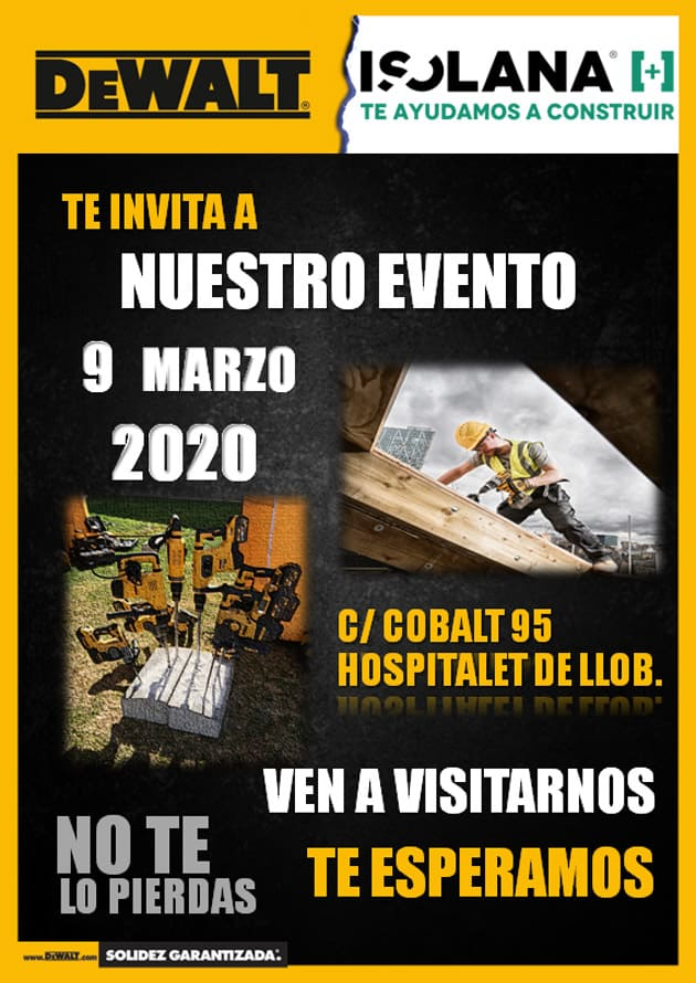 Evento DeWalt Isolana