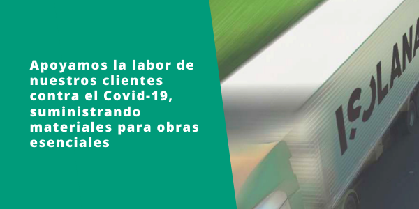 isolana apoya labor contra covid 19