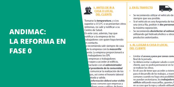 Andimac: La reforma en fase 0