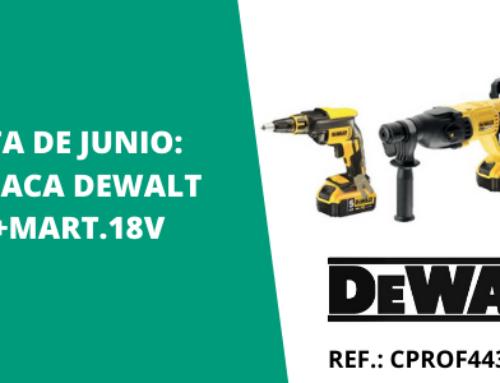 Kit para placa de DeWalt – Oferta del mes de junio en ISOLANA