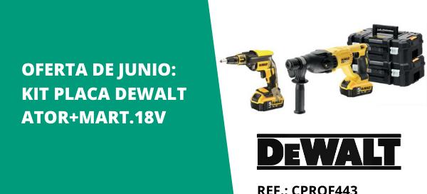 Oferta kit DeWalt para placa - Isolana