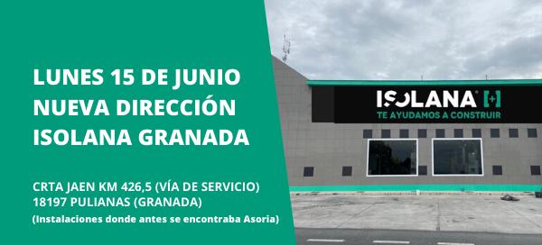 Isolana Granada Nueva Dirección