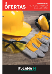 Catálogo ofertas ropa de seguridad 2020 - ISOLANA