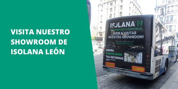 Publicidad Showroom Isolana León