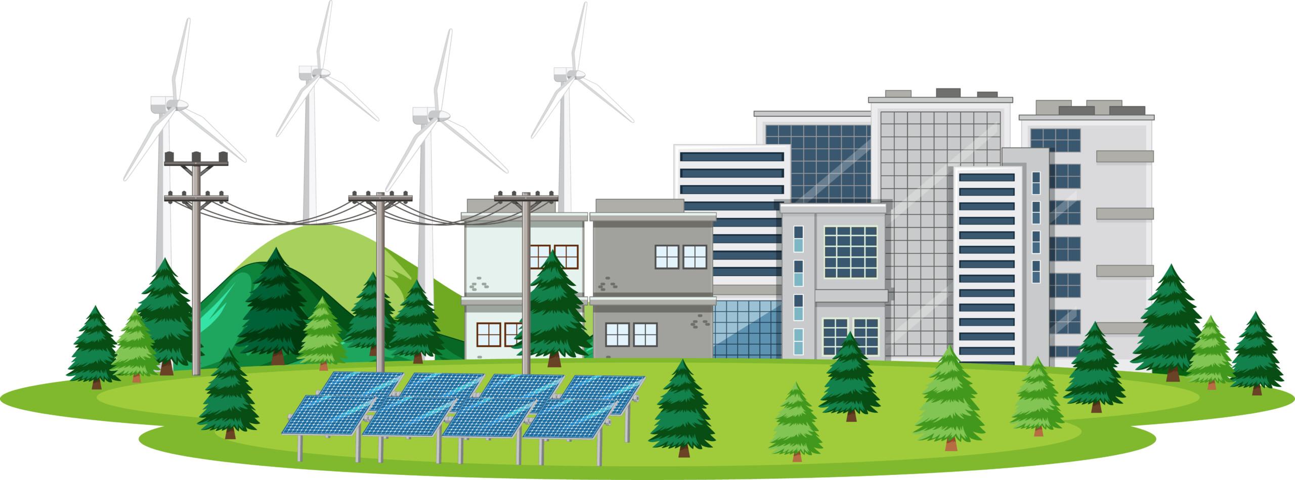 Edificios con energía renovable