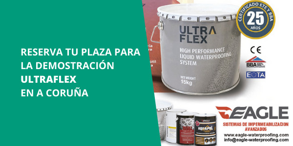 Jornada de demostración ULTRAFLEX en ISOLANA A Coruña - Martes 1 de diciembre