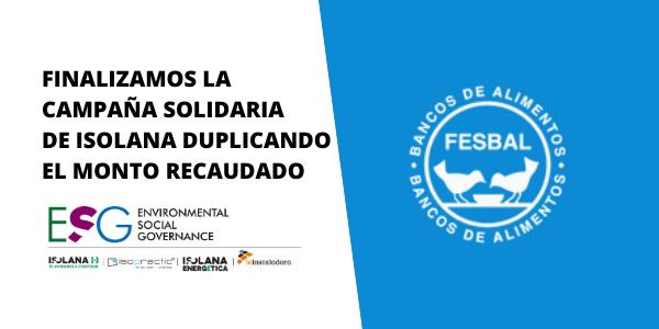 Campaña solidaria de Isolana