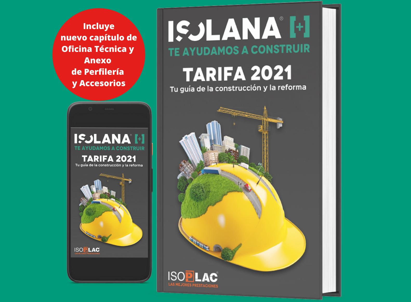 Tarifa Isolana 2021 online