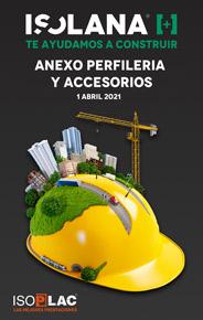 ANEXO PERFILIERÍA Y ACCESORIOS – TARIFA ISOLANA 2021
