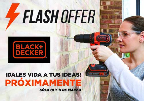 Flash offer Black and Decker - Ofertas España