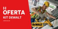 Oferta del mes: Kit DeWALT placa yeso